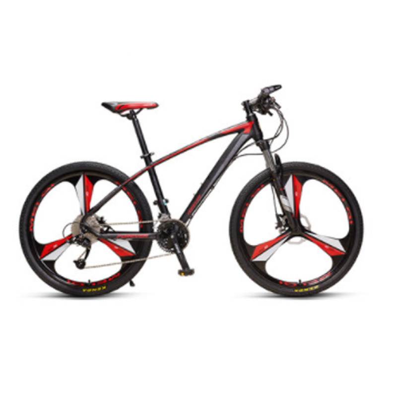 Mountain Bike 27 Speed 26 Inch Male Speed Off-Road Racing One Wheel Aluminum Alloy Ultra Light Double Shock Absorber Bicycle