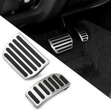 Pédale de pied en acier sans perceuse, pour Volvo S60 V60 XC60 S80 S 60 AT, frein à gaz automatique, accessoires de voiture
