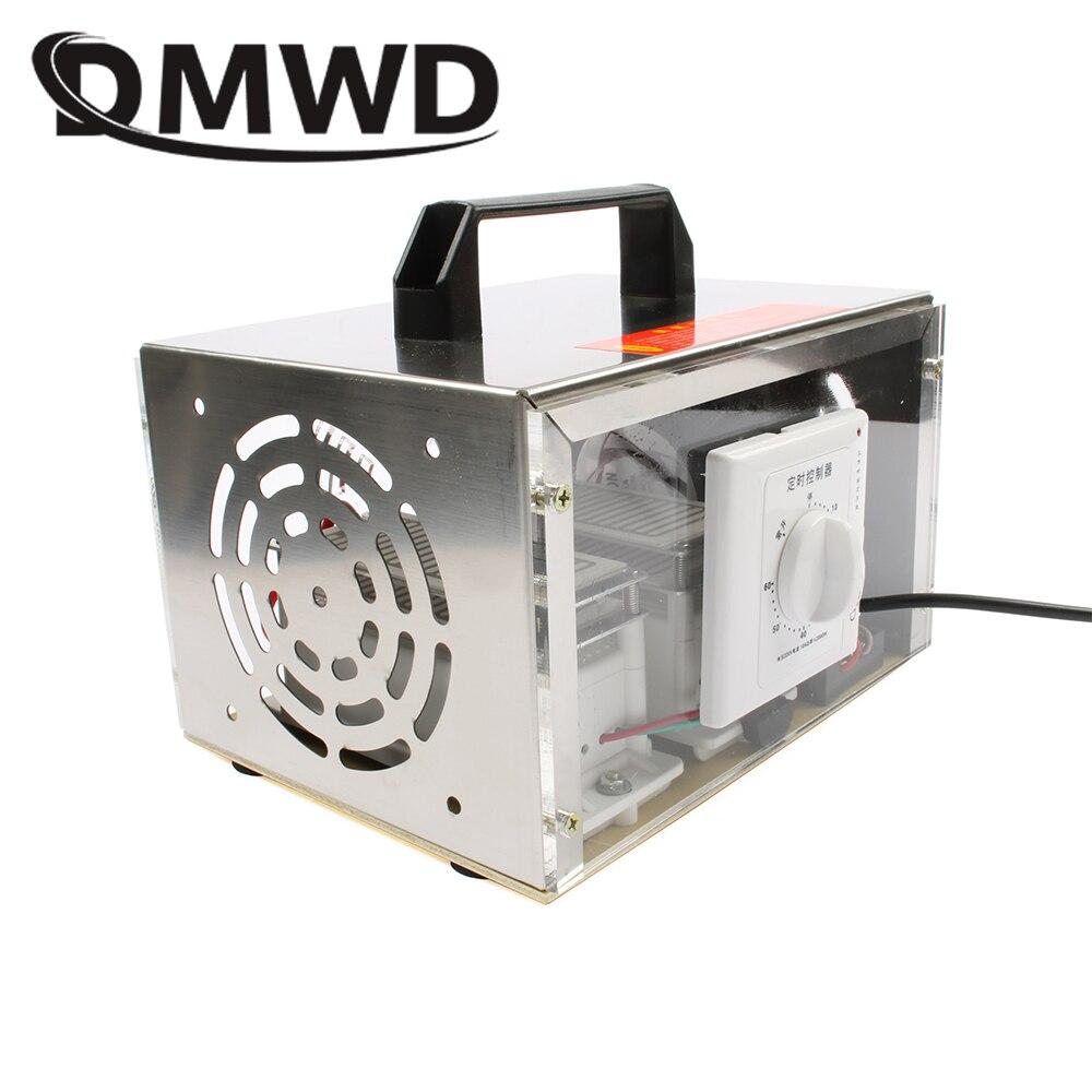 DMWD 20g placa Gerador de Ozônio 20000 mg/h Ozonizador Purificador de Ar Ozonizador Portátil Cleaner Esterilizador com Interruptor de Tempo 110V 220V