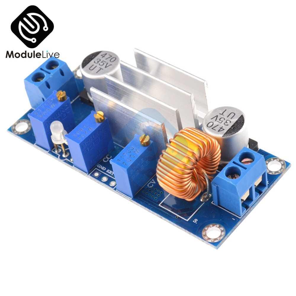 XL4005 4.5 V-30 V DC-DC abaisseur Module d'alimentation 5A Max réglable CC/CV Lithium chargeur Module de carte pour Arduino