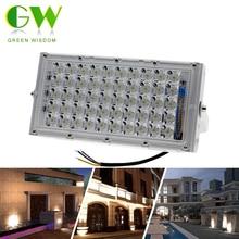 купить LED Floodlight 50W AC220V LED Street Light IP65 Waterproof Landscape Lighting Outdoor Wall Reflector LED Spotlight for Garden по цене 415.12 рублей