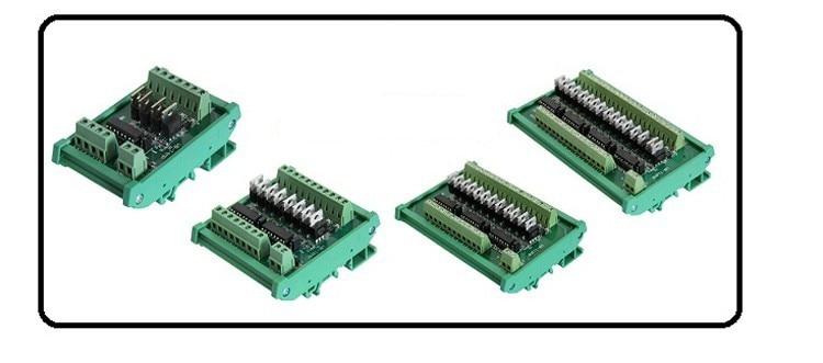 16 способов PLC NPN и PNP вход NPN выходной усилитель Терминал реле блоки пластина короткого замыкания защита от перегрузки по току
