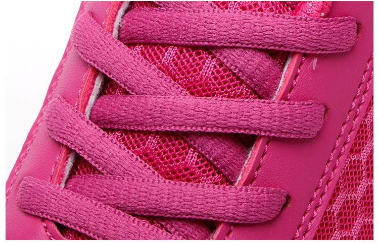 Slimming Shake shoes Women Fashion Breathable Mesh Casual Shoes Spring Summer Lace Up Women Swing Shoes Platform Trainers YD52 (30)