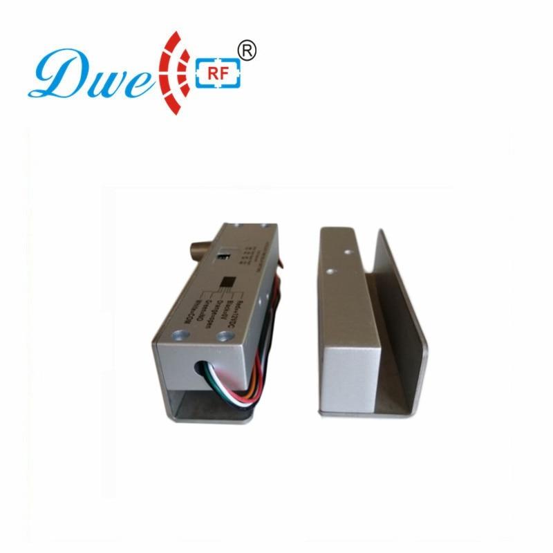 купить DWE CC RF Door Bolts 12v stainless steel fail safe fail security smart nfc glass electric door lock system по цене 2375.1 рублей