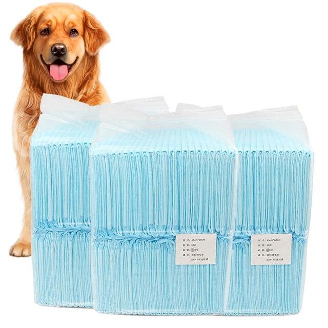 Almohadilla de orina absorbente para perro y gato, pañal desechable, colchoneta para perro, papel para orina