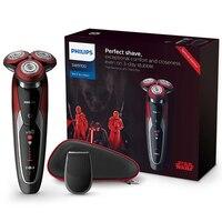 Philips электробритва Star Wars special edition SW9700/67 для Для мужчин станок для бритья влажной и сухой с V Track Precision PRO лезвие
