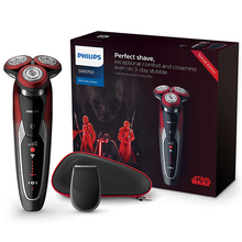 Philips Electric Shaver Star Wars special edition SW9700/67 for Men Shaving Machine Wet and Dry with V-Track Precision PRO Blade бритва philips sw9700 67 красный черный