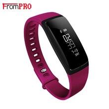 FROMPRO Умный Браслет Bluetooth4.0 V07 Артериального Давления Пульса Группа Фитнес-Трекер Шагомер Часы Браслет Для iOS Android