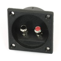 5x Tipo Quadrado Duplo Binding Post Speaker Terminal de Caixa de Copo Preto|cup black|cup cupscup shape -