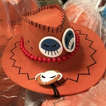 One Piece D Ace Fashion Cosplay Cowboy Hat Caps Gifts
