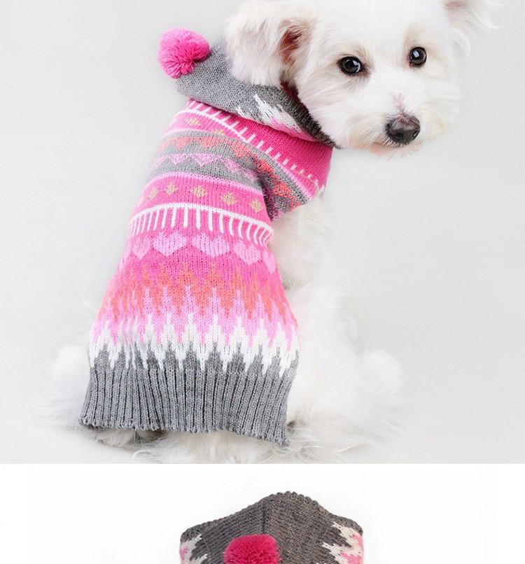Otoño Invierno Para Mascotas Ropa Para Perros Patrón de Copo de ...