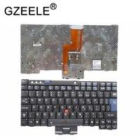 GZEELE Inglês teclado do portátil PARA IBM para Lenovo Thinkpad Tablet X60 X60s X61 X61s X60T X61T Teclado UI 42T3041 KS-90D0