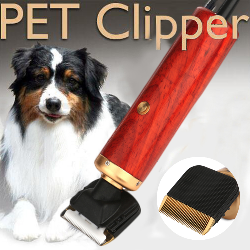 Electrical Pet Dog Hair Trimmers Professional Grooming Kit Cat 55W High Power High Quality Clipper Pets Haircut Shaver Machine image