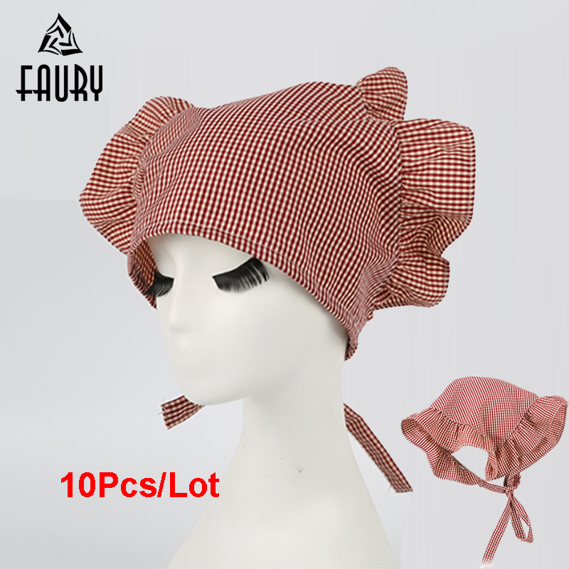 NEW COOK Half Mesh Chef Catering Baker Kitchen Food Factory Worker Hat