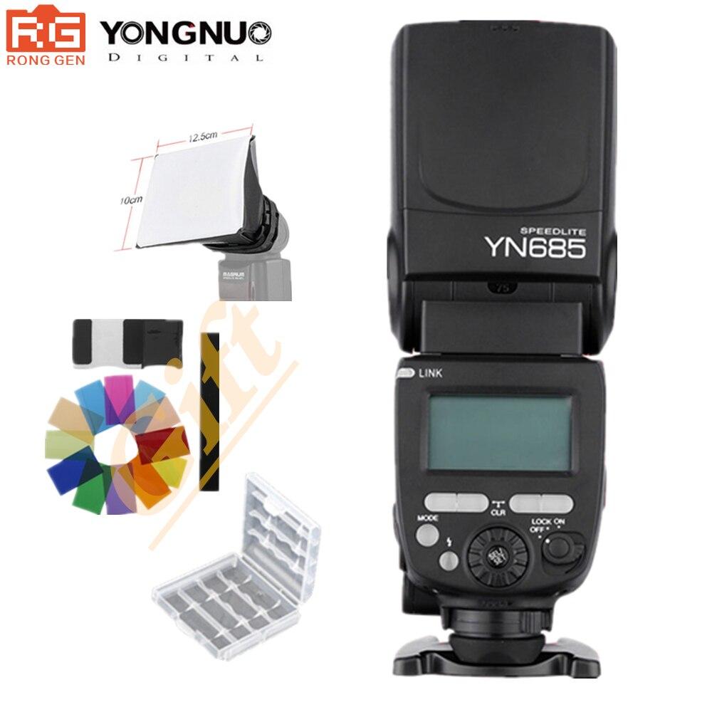 YONGNUO GN60 YN685 Wireless TTL Flash Speedlite HSS 1/8000 for Canon Nikon support YN560IV YN560-TX RF605 RF603 II YN685C YN685N