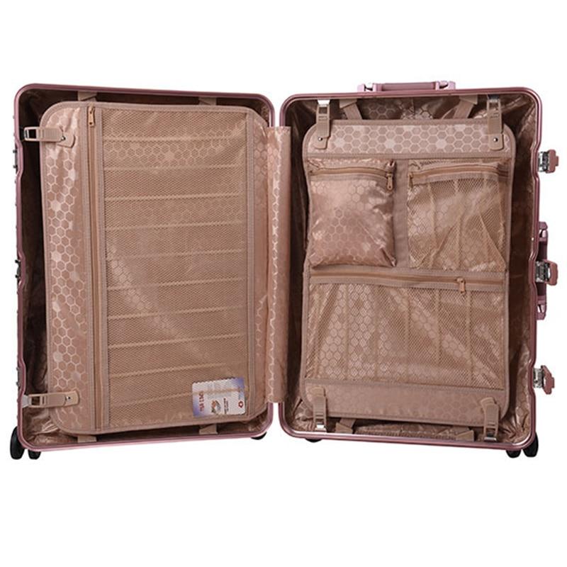 Fashion 20\' Boarding Bag 24\' Trolley Gold Pink Silver Black ...