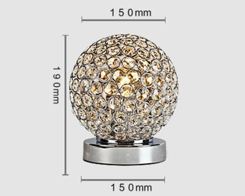 ... Details About Vepower Elegant Designs T39 Crystal Ball Table Lamp ...