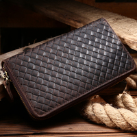 B 189 Mans Card Holders Mens Leather Wallets Leather Purses Genuine Leather Fashion Vintage Crazy Horse
