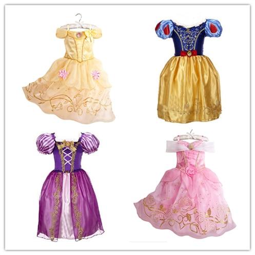 2018 الفتيات الصيف اللباس الاطفال cindrella - ازياء كرنفال