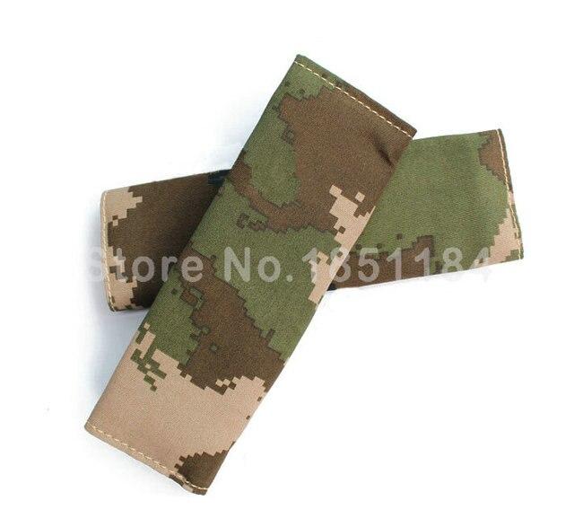 Calssic человек камуфляж ткани автокресло ремень безопасности обложки камуфляж авто интерьера 2 шт. - зеленый