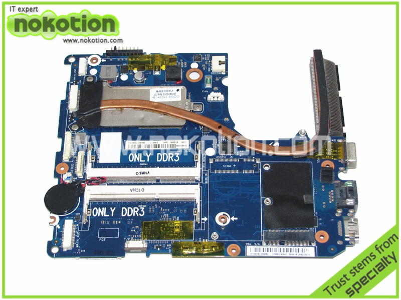 BA92-06091A BA92-06091B Laptop Motherboard for Samsung NP-X120 ddr3 Intel Mainboard full tested ba92 05127a ba92 05127b laptop motherboard for samsung np r60 r60 ddr2 intel ati rs600me mainboard