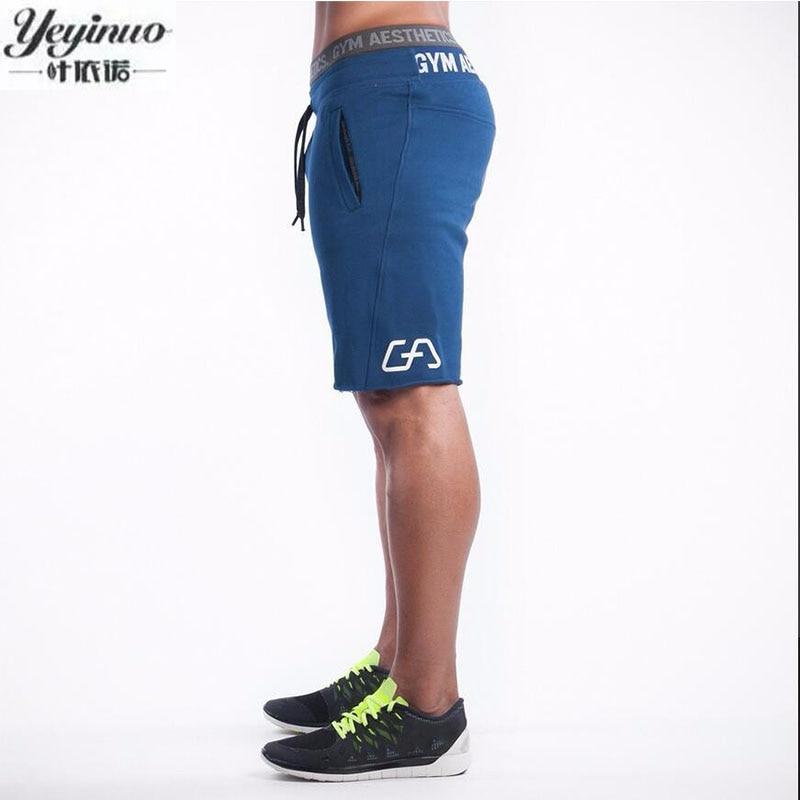 2016 Summer Quality Black Slim Cotton Men Golds Brand Shorts Mens Professional Short Gasp Big Size