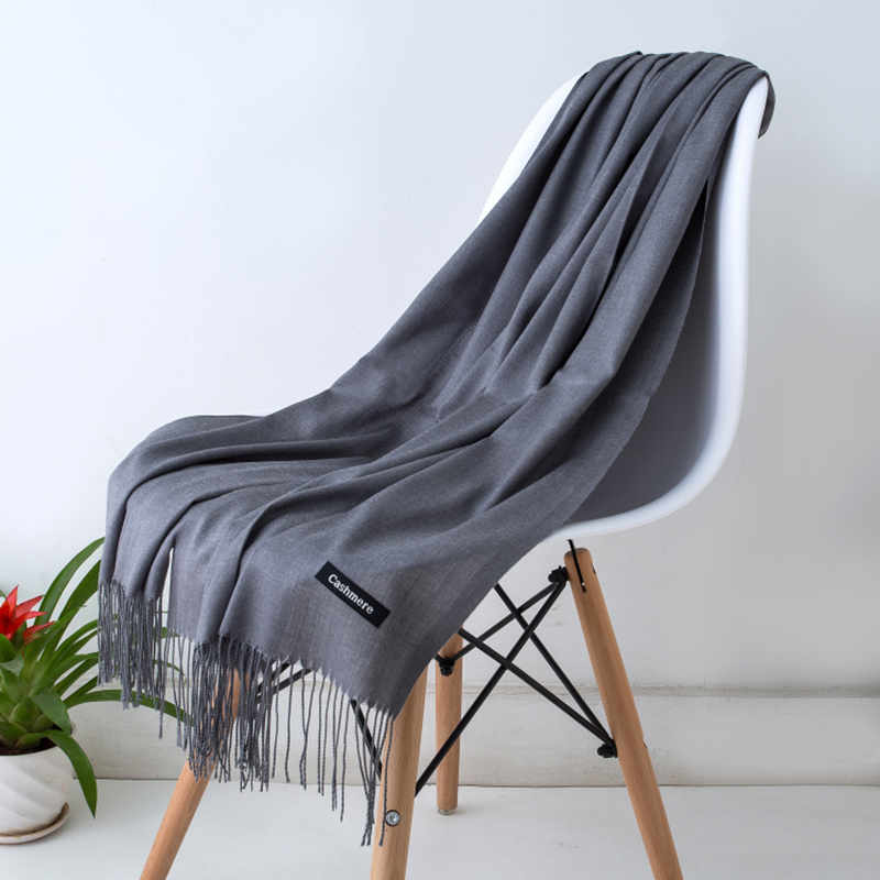 New   Scarves   for Women Shawls and   Wraps   Fashion Solid Female hijab Stoles Pashmina Thin Cashmere   Scarves   Foulard