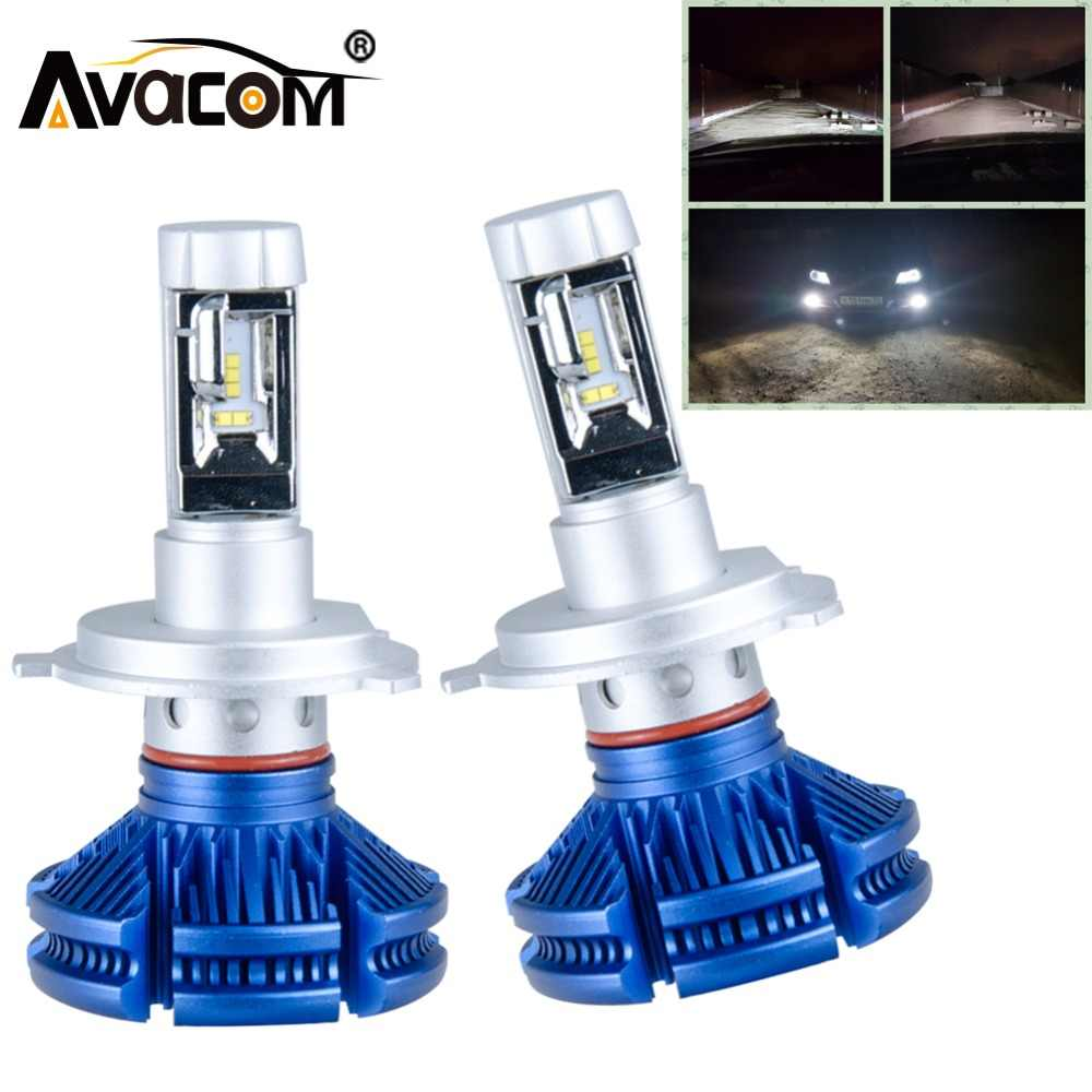 Avacom 2018 Hot Sale H7 H11 H8 LED Car Bulb 12V ZES Chip 12000Lm 9005/HB3 9006/HB4 24V Lampada LED H4 For Auto Coche Carro