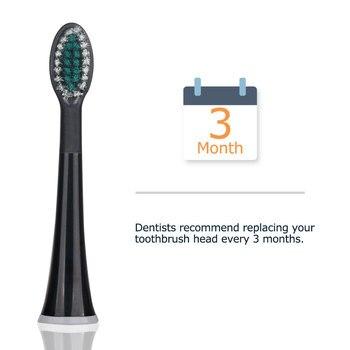 Сменные насадки для электрической зубной щетки Mornwell D01B, 4 шт. 6