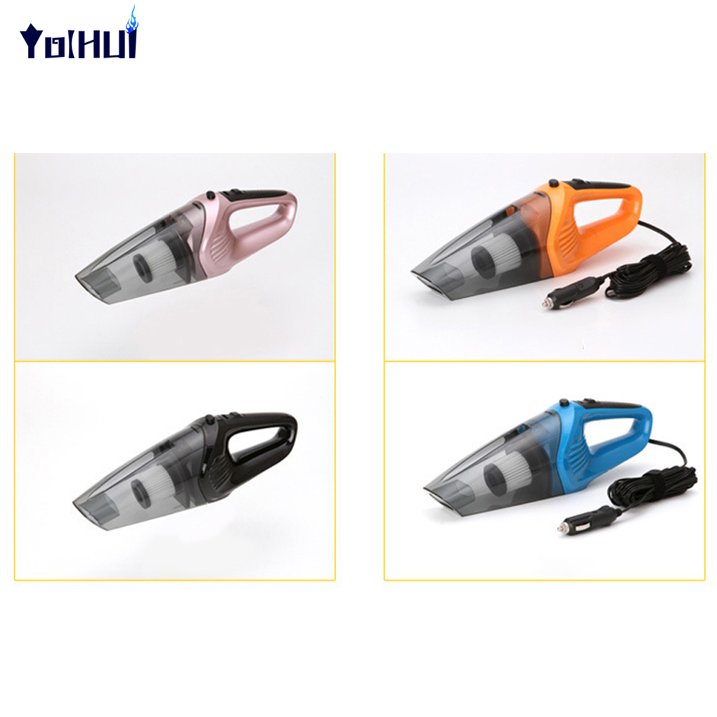 Wired 120W 12V Car Vacuum Cleaner Strong Suction High Power Portable Vacuum Cleaner