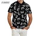 E-BAIHUI бренд Летом Стиль Пятно Мужской Теннис Твердых Рубашки поло хлопок рубашки Поло Мужчин Camisa PoloMen случайные вершины тройники добычу P012
