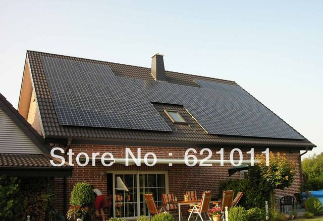 15KW solar system,home solar power system include solar panel, 15kw inverter and other parts,without battery