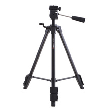 Free Delivery! Kingjue VT-910 Skilled Light-weight Transportable Digicam Tripod Stand with Head Photogaphy Tools For Camcorder