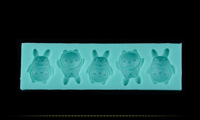 Totoro Silicone Cake Mould