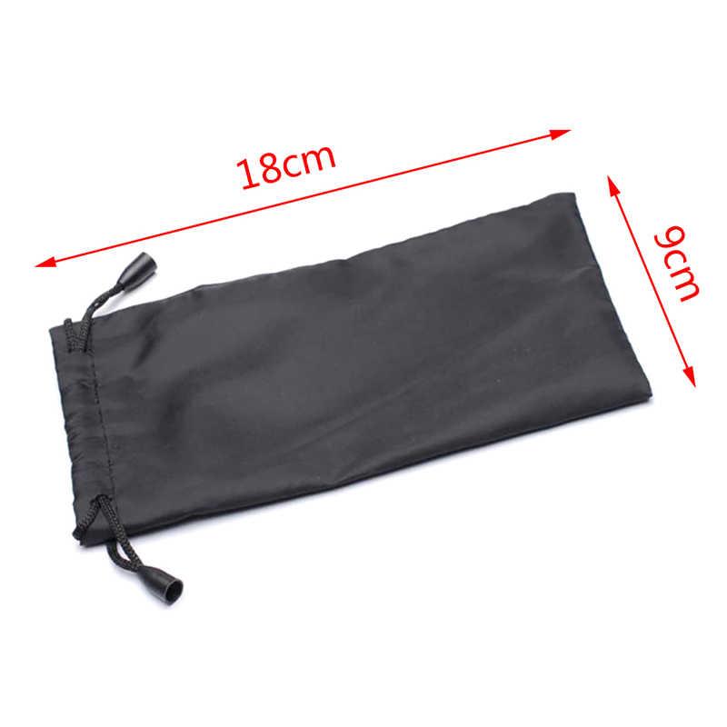 Glasses Carry Bag Cloth Dust Pouch Optical Pouches For Sunglasses Waterproof Dustproof Sunglasses Pouch 18x9cm