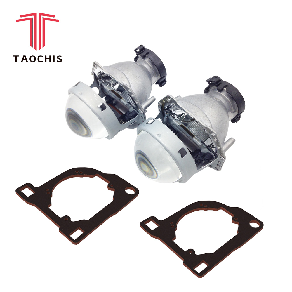 TAOCHIS style de voiture transition cadre adaptateur Hella 3R G5 Projecteur objectif rénovation Support pour NISSAN MURANO Z50 2002-2009