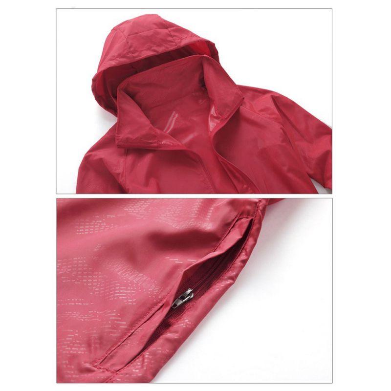 2017 Unisex Couple Models anti-UV Windbreaker Outdoor Sports Jacket Men Women Summer Sun Coat