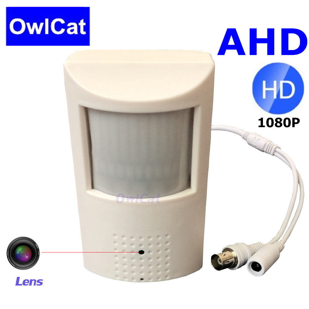 OwlCat PIR Design Indoor Home Mini Bayby Monitoring Camera AHD 1080P Cameras 2MP with 3.6mm 2.8mm LensOwlCat PIR Design Indoor Home Mini Bayby Monitoring Camera AHD 1080P Cameras 2MP with 3.6mm 2.8mm Lens