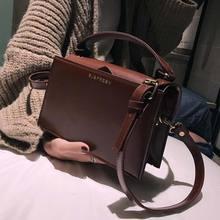 цена на Chic Pu Small Square Bag Women Handbag Fashion Dark Color Shoulder Messenger Bags Lady Crossbody Bags Korean Style Clutch