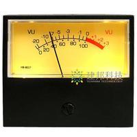 고정밀 vu 상단 출력 전력 증폭기 전면 스테이지 db 레벨 미터 오디오 전력 사운드 압력 시계 백라이트 TN-42AB