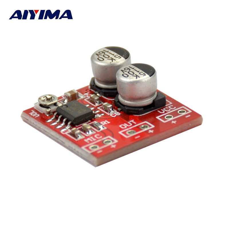 AIYIMA LM386 Electret Microphones Amplifier Board The Microphone Amplifier