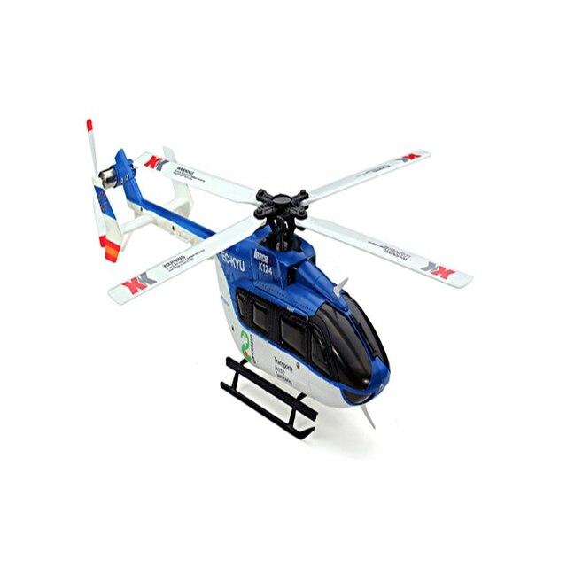 XK K124 EC145 3D6G Sistema RC Helicopter RTF 6CH Brushless