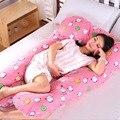 Тело материнства Подушка U-образный Беременные Женщины Стороны Шпал Подушки Живота Фасонного Спящая Уход Подушка