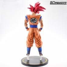 Big Size Son Goku Super Saiyan God Transformation Collectible Action Figure 30CM
