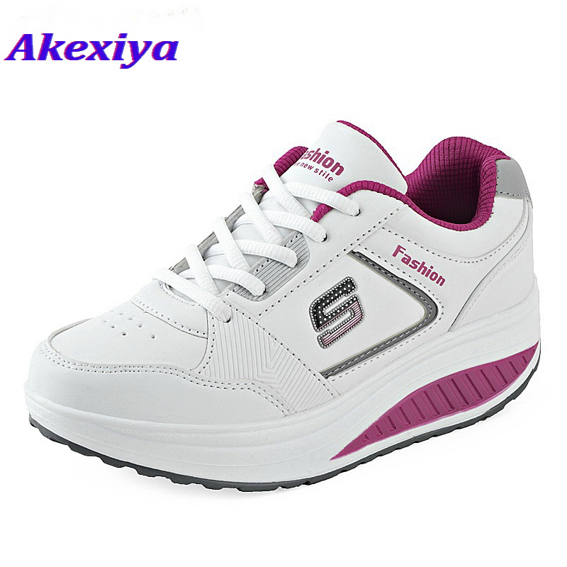 Akexiya Running Sneakers For Weight Loss Womens Running Shoes Krossovky Rocking Shoes Women Walking Shoe Sports Runing Shoes