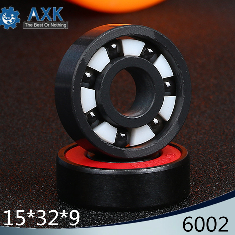 6002 Full Ceramic Bearing ( 1 PC ) 15*32*9 mm Si3N4 Material 6002CE All Silicon Nitride Ceramic Ball Bearings6002 Full Ceramic Bearing ( 1 PC ) 15*32*9 mm Si3N4 Material 6002CE All Silicon Nitride Ceramic Ball Bearings