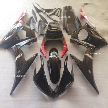 NEW! Red black motorcycle fairing set for  R6 2003 2004 2005 fairings kit R6 03 04 05 for Yamaha-Nn