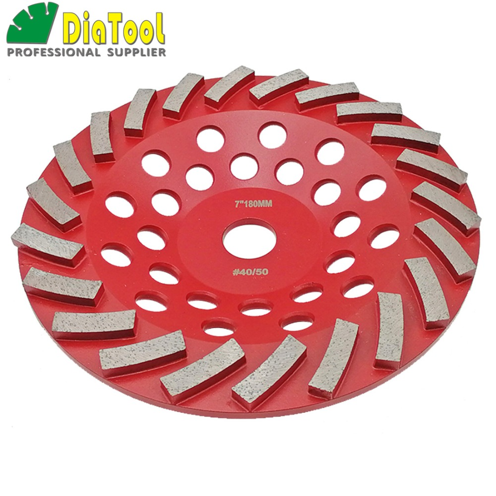 """Image 5 - DIATOOL Diamond Segmented Turbo Grinding Cup Wheel for Concrete and other construction material  4"""" 4.5"""" 5"""" 7"""" availablecup wheelgrinding cup wheelcup grinding wheel -"""