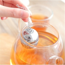 New Creative Stainless Steel Tea Infuser Ball Tea Leaf Spice Strainer Mesh Filter Cooking Tools Kitchen Accessories new 1pc chic stainless steel mesh tea infuser metal cup strainer tea leaf filter sieve