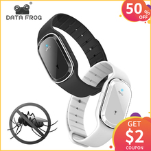DATA FROG Electronic Mosquito Repellent Bracelet Waterproof Portable Watch Anti Wristband Pregnant Kids Killer